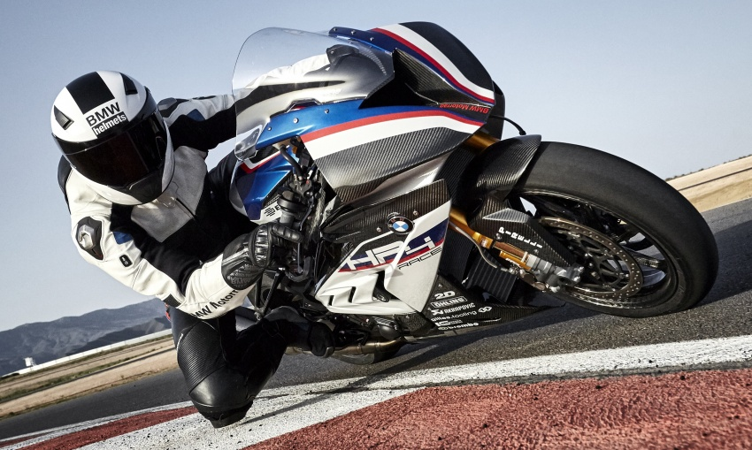 2017 BMW Motorrad HP4 Race racing motorcycle released – limited edition of only 750, worldwide Image #647899