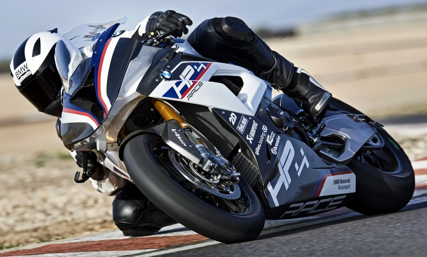 2017 BMW Motorrad HP4 Race racing motorcycle released – limited edition of only 750, worldwide Image #647903