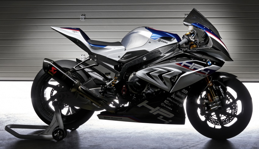 2017 BMW Motorrad HP4 Race racing motorcycle released – limited edition of only 750, worldwide Image #647906