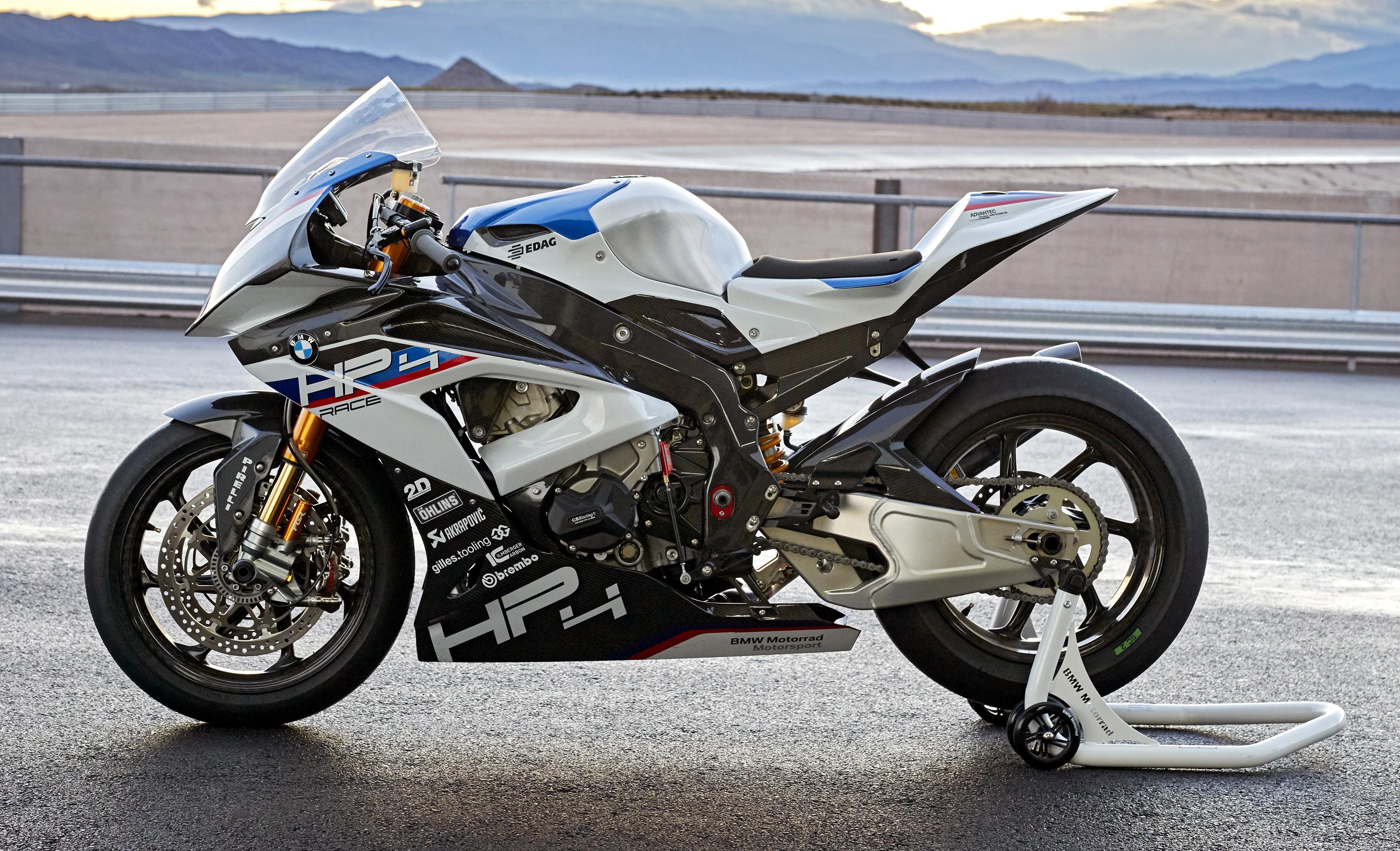 2017 Bmw Motorrad Hp4 Race Racing Motorcycle Released