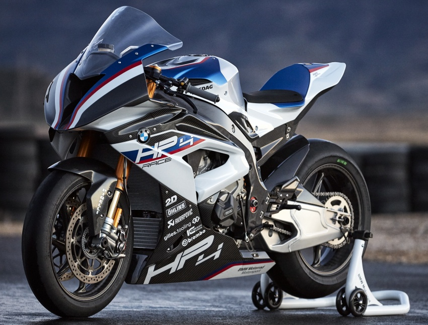 2017 BMW Motorrad HP4 Race racing motorcycle released – limited edition of only 750, worldwide Image #647911