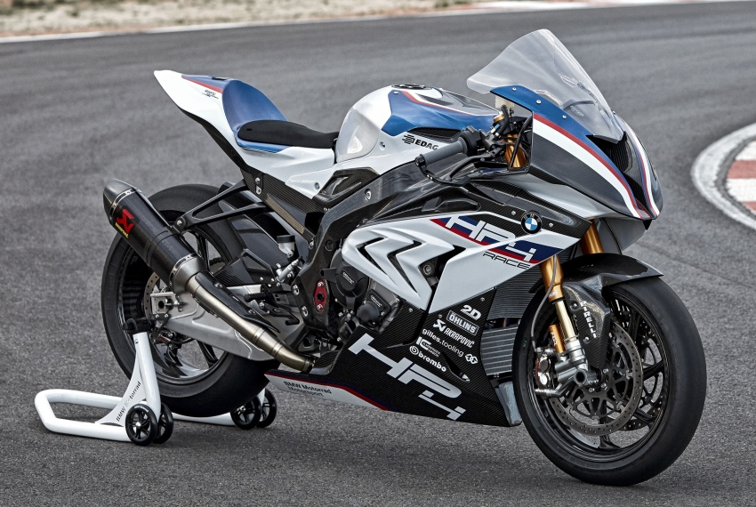 2017 BMW Motorrad HP4 Race racing motorcycle released – limited edition of only 750, worldwide Image #647912