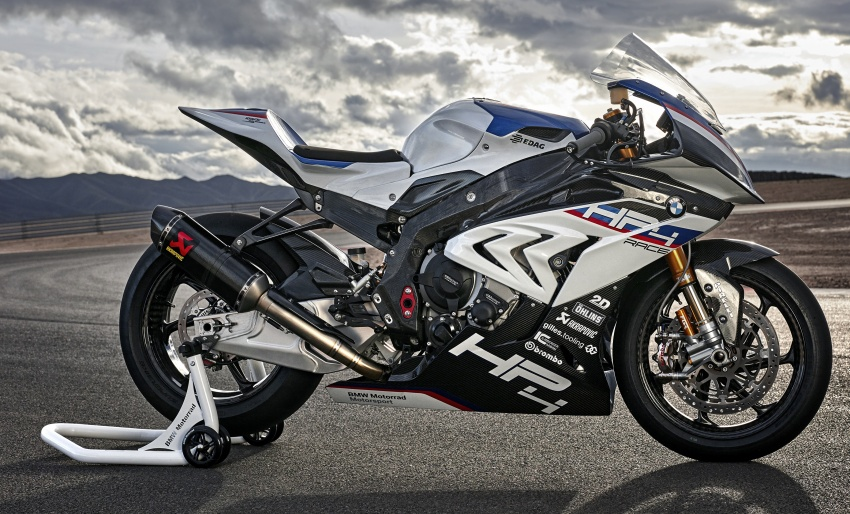 2017 BMW Motorrad HP4 Race racing motorcycle released – limited edition of only 750, worldwide Image #647914