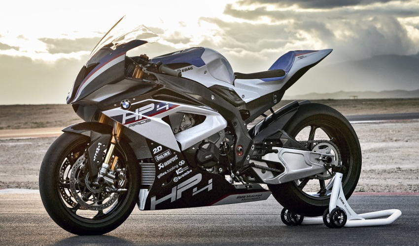 2017 BMW Motorrad HP4 Race racing motorcycle released – limited edition of only 750, worldwide Image #647917