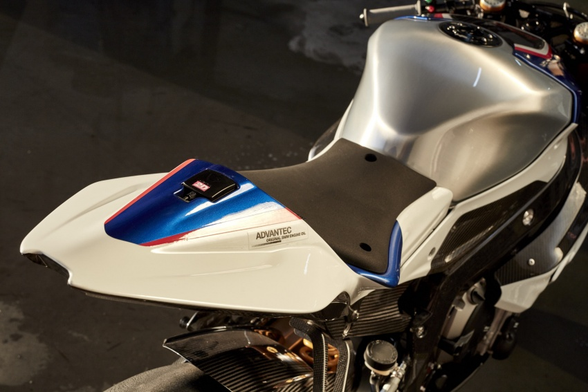 2017 BMW Motorrad HP4 Race racing motorcycle released – limited edition of only 750, worldwide Image #647929