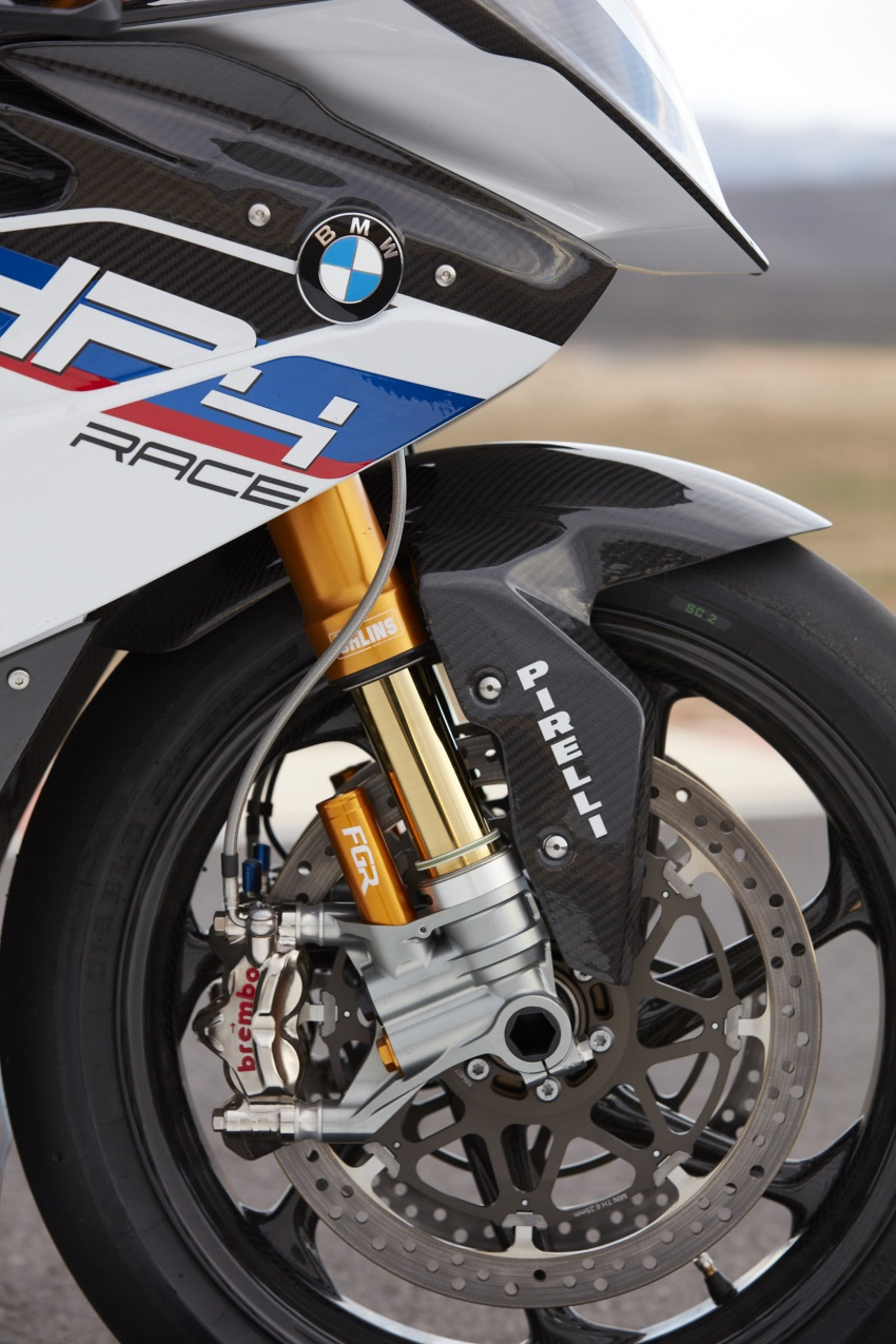 2017 BMW Motorrad HP4 Race racing motorcycle released – limited edition of only 750, worldwide Image #647935