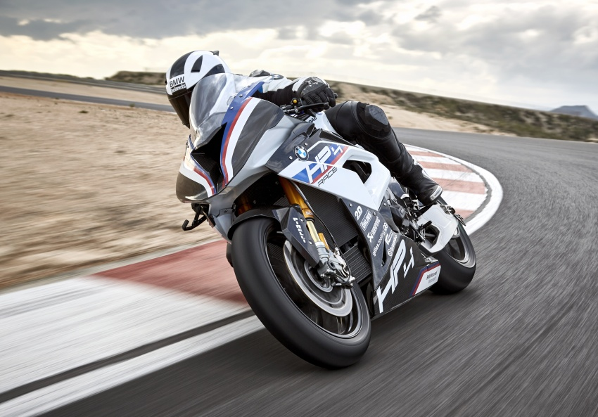 2017 BMW Motorrad HP4 Race racing motorcycle released – limited edition of only 750, worldwide Image #647872