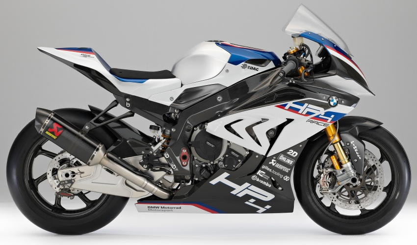 2017 BMW Motorrad HP4 Race racing motorcycle released – limited edition of only 750, worldwide Image #647944