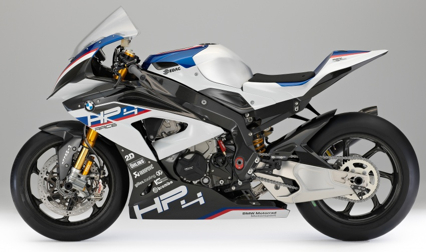 2017 BMW Motorrad HP4 Race racing motorcycle released – limited edition of only 750, worldwide Image #647945