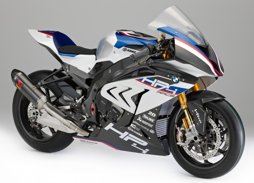 2017 BMW Motorrad HP4 Race racing motorcycle released – limited edition of only 750, worldwide Image #647946