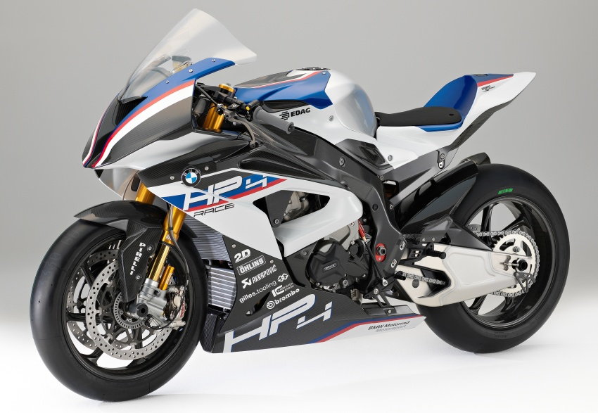 2017 BMW Motorrad HP4 Race racing motorcycle released – limited edition of only 750, worldwide Image #647947