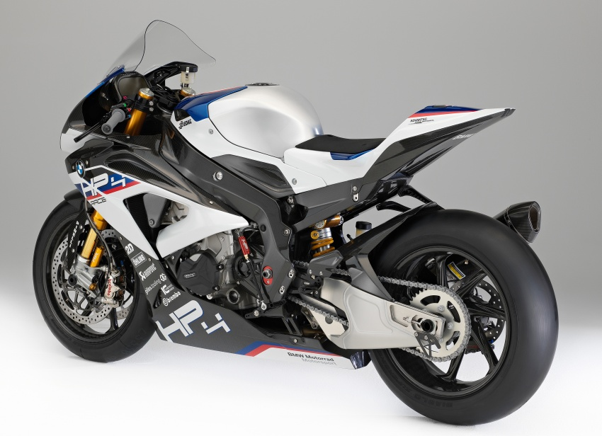 2017 BMW Motorrad HP4 Race racing motorcycle released – limited edition of only 750, worldwide Image #647948