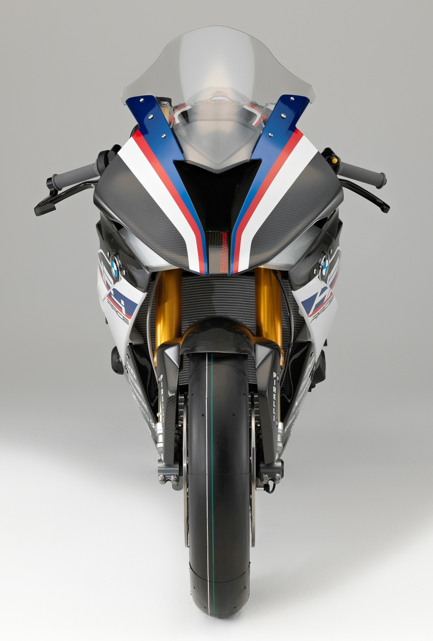 2017 BMW Motorrad HP4 Race racing motorcycle released – limited edition of only 750, worldwide Image #647950