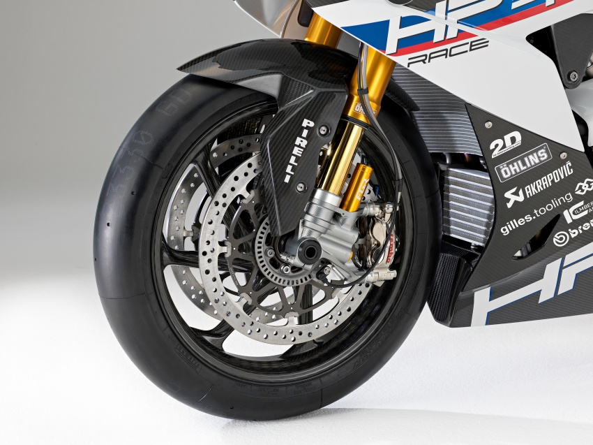 2017 BMW Motorrad HP4 Race racing motorcycle released – limited edition of only 750, worldwide Image #647953