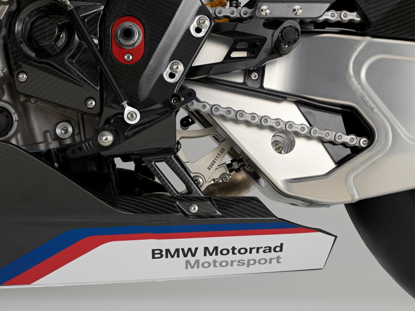 2017 BMW Motorrad HP4 Race racing motorcycle released – limited edition of only 750, worldwide Image #647954
