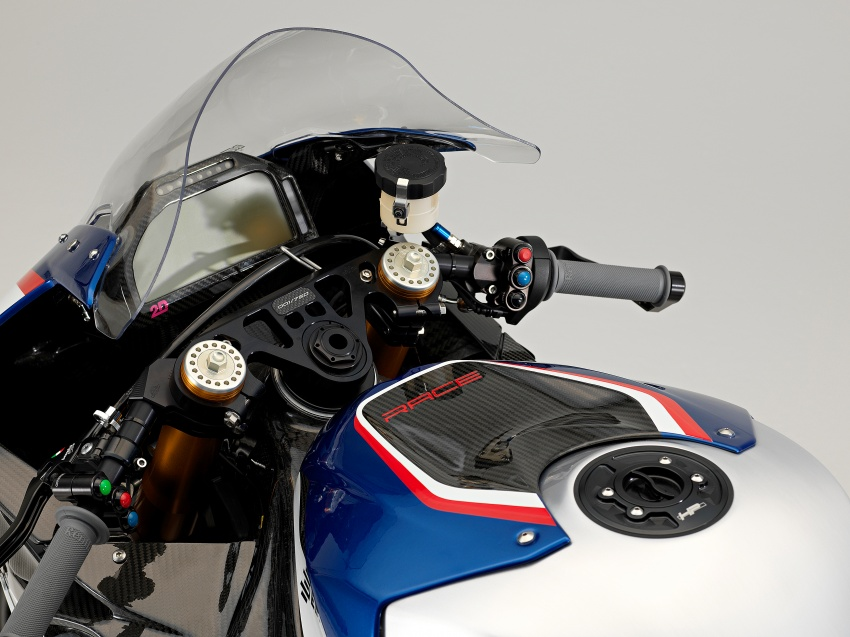 2017 BMW Motorrad HP4 Race racing motorcycle released – limited edition of only 750, worldwide Image #647958