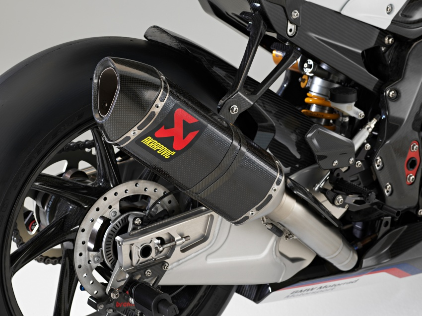 2017 BMW Motorrad HP4 Race racing motorcycle released – limited edition of only 750, worldwide Image #647960