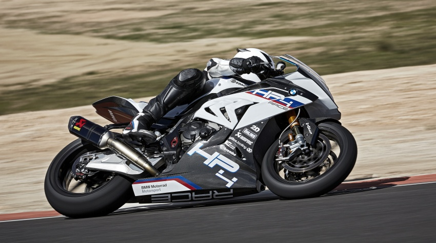 2017 BMW Motorrad HP4 Race racing motorcycle released – limited edition of only 750, worldwide Image #647875