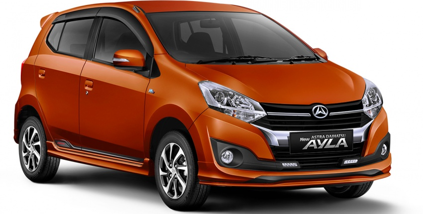 2017 Toyota Agya and Daihatsu Ayla facelift launched in Indonesia – new 1.2L 3NR-FE four-cylinder engine Image #642900