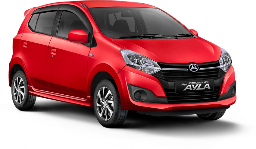 2017 Toyota Agya and Daihatsu Ayla facelift launched in Indonesia – new 1.2L 3NR-FE four-cylinder engine Image #642902