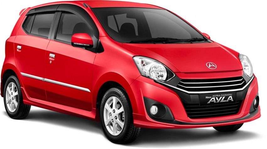 2017 Toyota Agya and Daihatsu Ayla facelift launched in Indonesia – new 1.2L 3NR-FE four-cylinder engine Image #642903