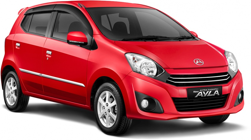 2017 Toyota Agya and Daihatsu Ayla facelift launched in Indonesia – new 1.2L 3NR-FE four-cylinder engine Image #642904
