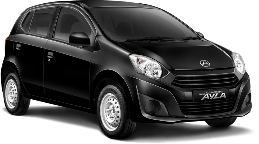 2017 Toyota Agya and Daihatsu Ayla facelift launched in Indonesia – new 1.2L 3NR-FE four-cylinder engine Image #642907