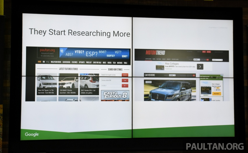 86% of Malaysian car buyers do research online before making a purchase, according to Google study Image #645243