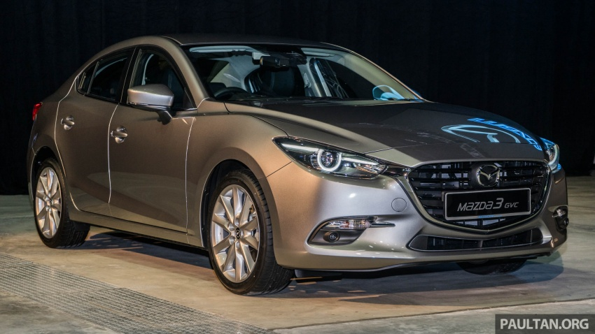 2017 Mazda 3 facelift launched in Malaysia – now with G-Vectoring Control; three variants, from RM111k Image #651737