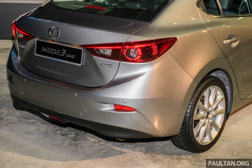 2017 Mazda 3 facelift launched in Malaysia – now with G-Vectoring Control; three variants, from RM111k Image #651750