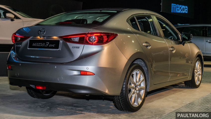 2017 Mazda 3 facelift launched in Malaysia – now with G-Vectoring Control; three variants, from RM111k Image #651740