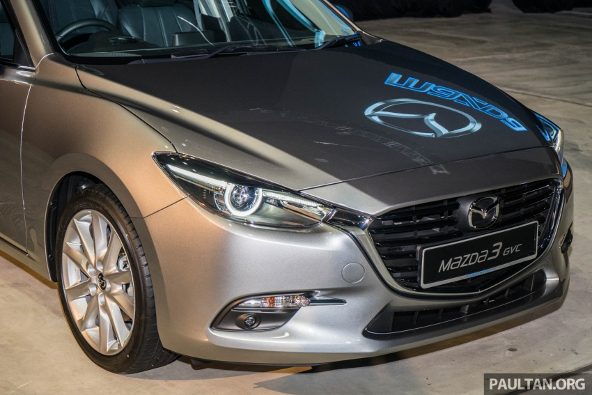 2017 Mazda 3 facelift launched in Malaysia – now with G-Vectoring Control; three variants, from RM111k Image #651743
