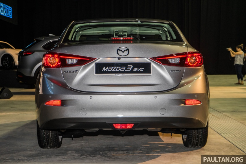 2017 Mazda 3 facelift launched in Malaysia – now with G-Vectoring Control; three variants, from RM111k Image #651744