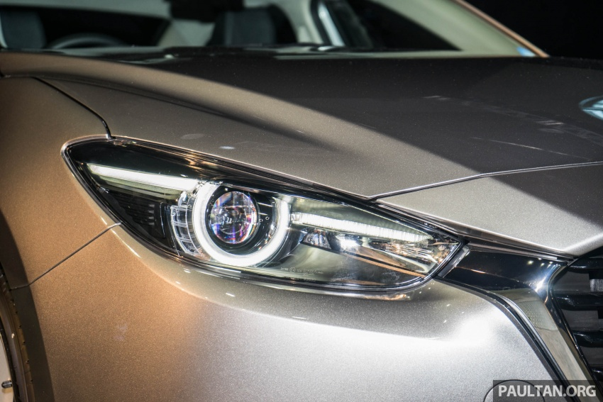 2017 Mazda 3 facelift launched in Malaysia – now with G-Vectoring Control; three variants, from RM111k Image #651745