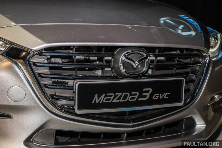 2017 Mazda 3 facelift launched in Malaysia – now with G-Vectoring Control; three variants, from RM111k Image #651746
