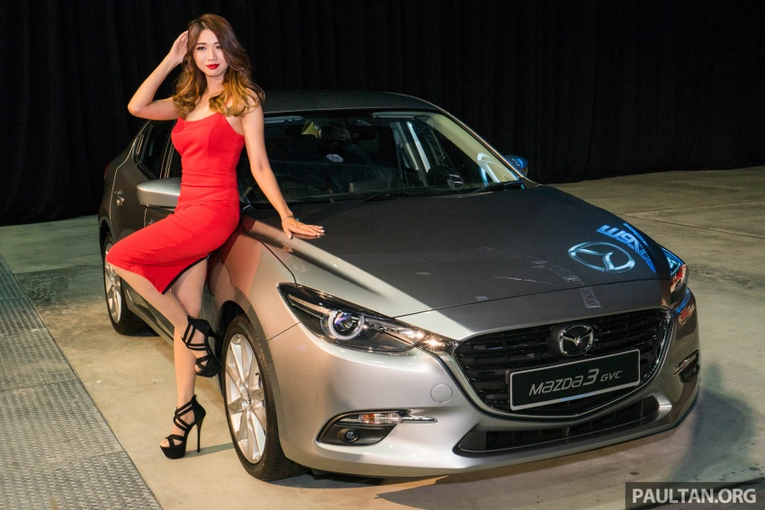2017 Mazda 3 facelift launched in Malaysia – now with G-Vectoring Control; three variants, from RM111k Image #651950