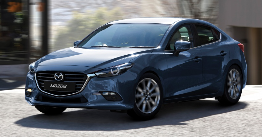 2017 Mazda 3 facelift launched in Malaysia – now with G-Vectoring Control; three variants, from RM111k Image #651457