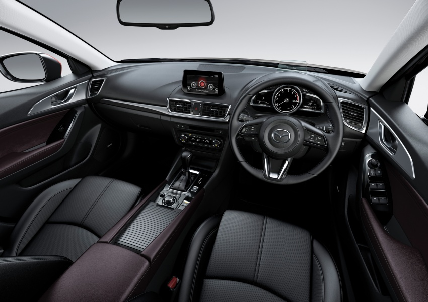 2017 Mazda 3 facelift launched in Malaysia – now with G-Vectoring Control; three variants, from RM111k Image #651467