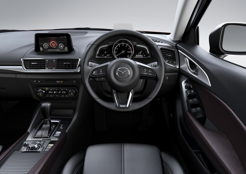2017 Mazda 3 facelift launched in Malaysia – now with G-Vectoring Control; three variants, from RM111k Image #651468