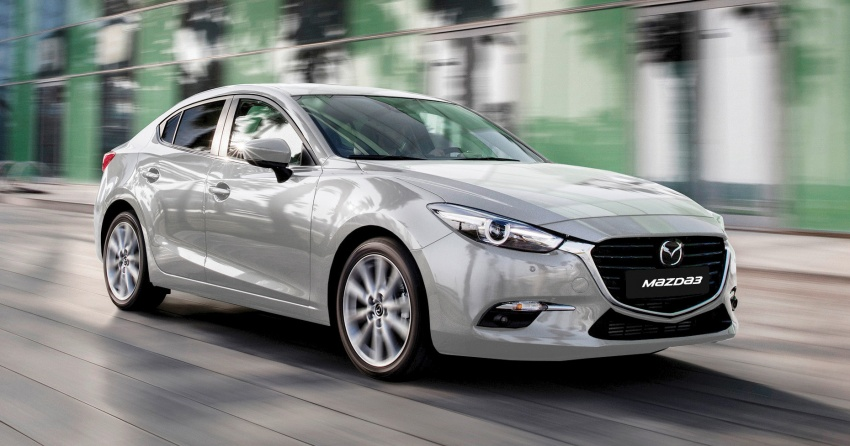2017 Mazda 3 facelift launched in Malaysia – now with G-Vectoring Control; three variants, from RM111k Image #651458