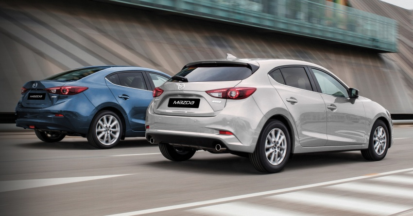2017 Mazda 3 facelift launched in Malaysia – now with G-Vectoring Control; three variants, from RM111k Image #651459
