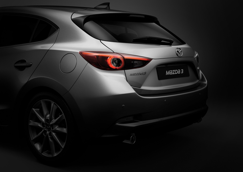 2017 Mazda 3 facelift launched in Malaysia – now with G-Vectoring Control; three variants, from RM111k Image #651463