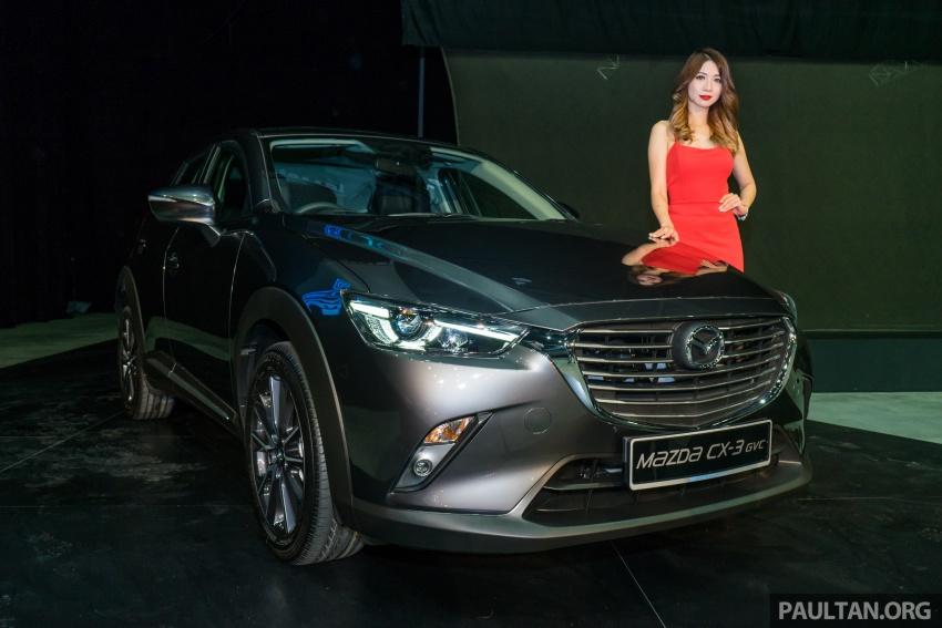 GALERI: Mazda CX-3 2017 dengan G-Vectoring Control Image #652326