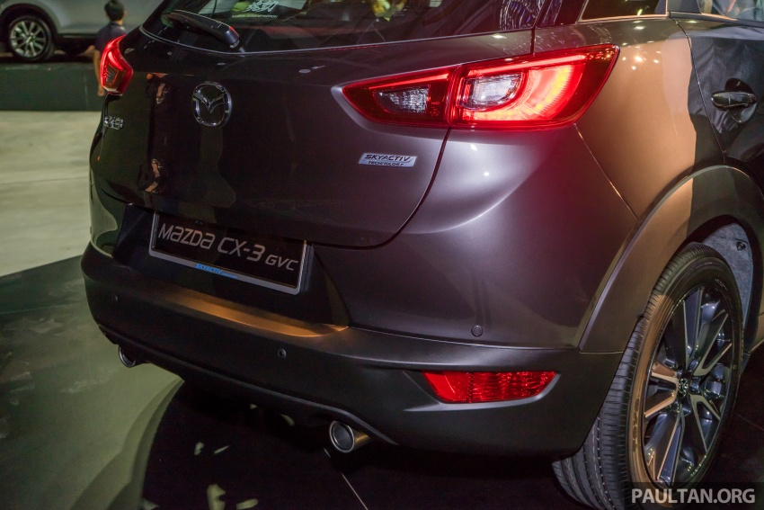 GALLERY: 2017 Mazda CX-3 with G-Vectoring Control Image #652203