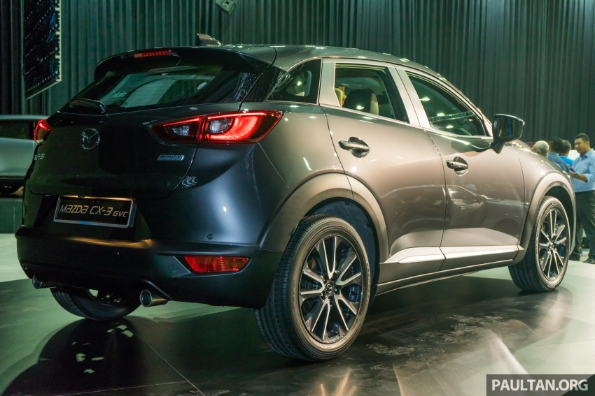 GALLERY: 2017 Mazda CX-3 with G-Vectoring Control Image #652191
