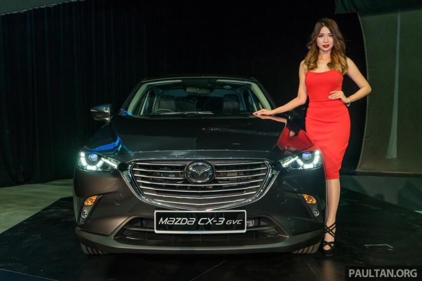 GALERI: Mazda CX-3 2017 dengan G-Vectoring Control Image #652304
