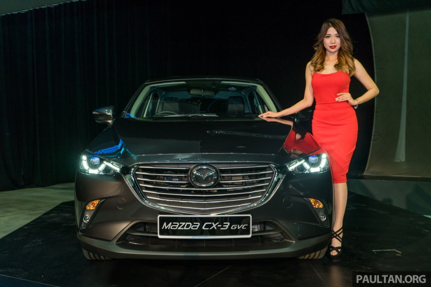 GALLERY: 2017 Mazda CX-3 with G-Vectoring Control Image #652192