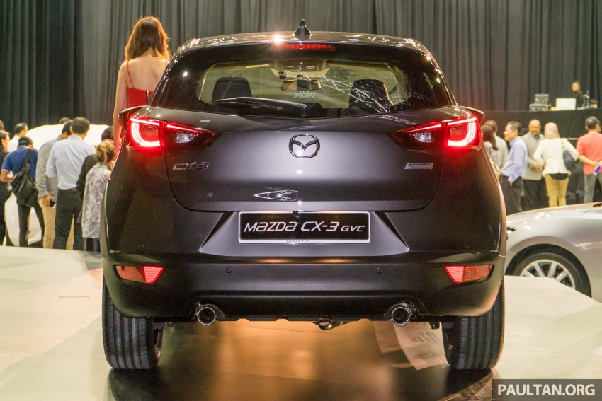 GALLERY: 2017 Mazda CX-3 with G-Vectoring Control Image #652194
