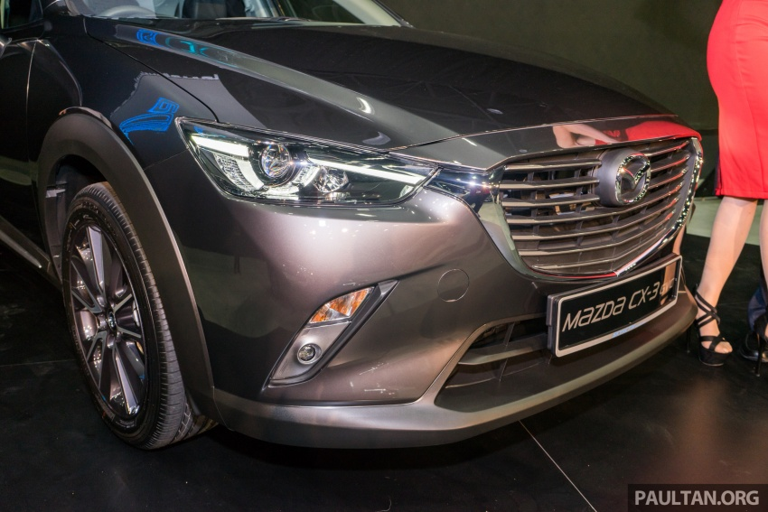 GALLERY: 2017 Mazda CX-3 with G-Vectoring Control Image #652195