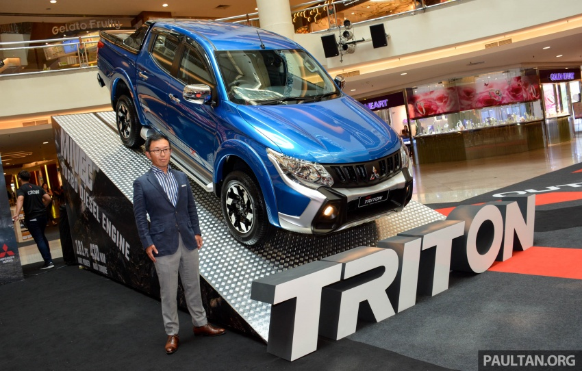 2017 Mitsubishi Triton receives ESP, seven airbags and five-year/200,000 km warranty – RM77k-RM131k Image #641826